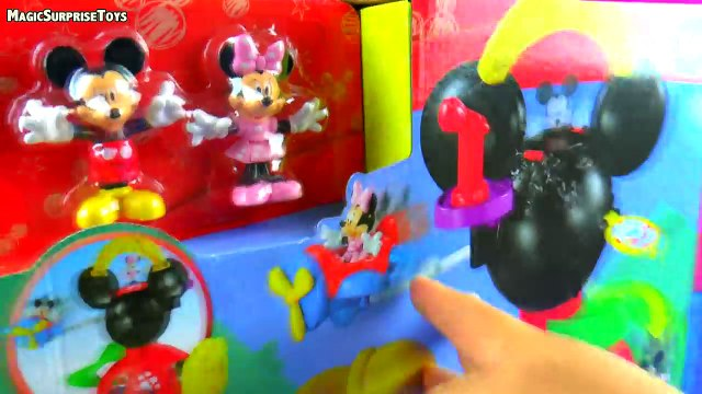 Mickey Mouse Play Around Clubhouse Toy Mickey Mouse and Minnie Mouse Adventures in Wonderland