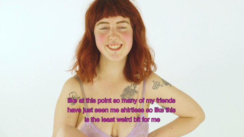 Why these LGBTQ students got naked to talk about their body ?