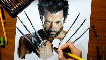 Drawing Wolverine