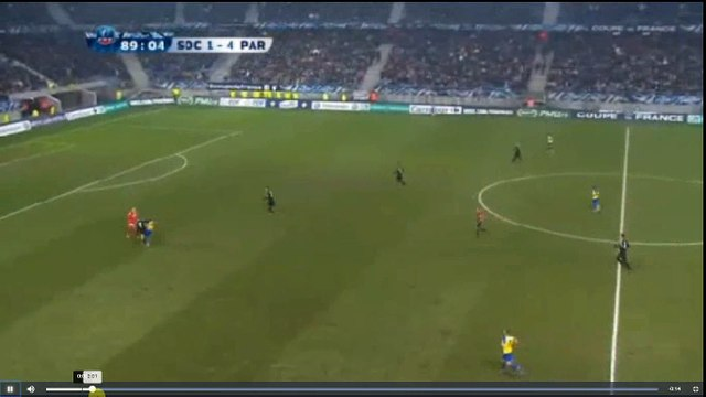 Trapp Red Card - Sochaux vs PSG  1-4  06.02.2018 (HD)