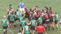 Une violente bagarre générale éclate lors d'un match de championnat Géorgien
