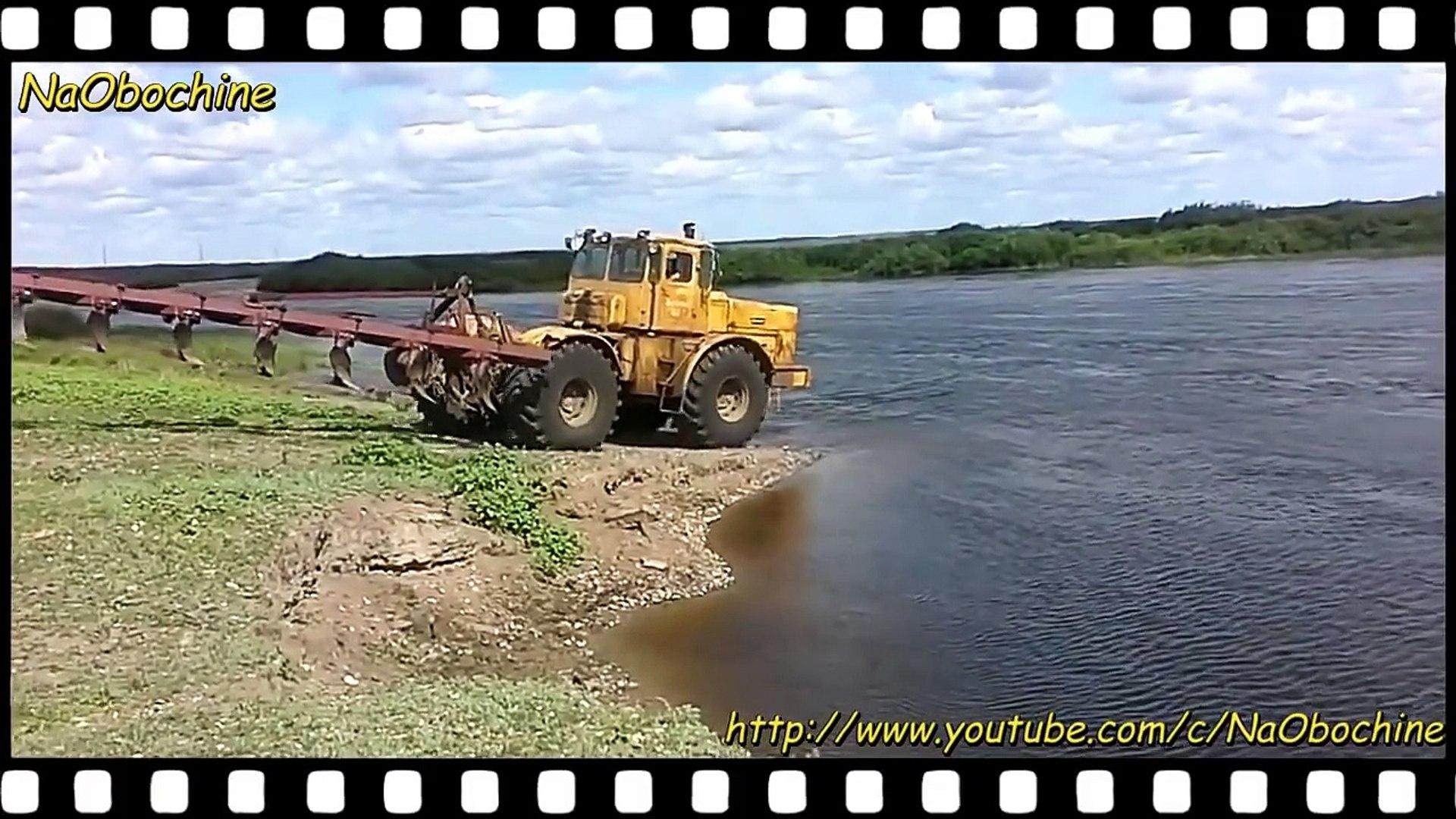 К-700, К-701 Кировец в воде и грязи! Глаза боятся а Кирюша (К-700) едет! Подборка