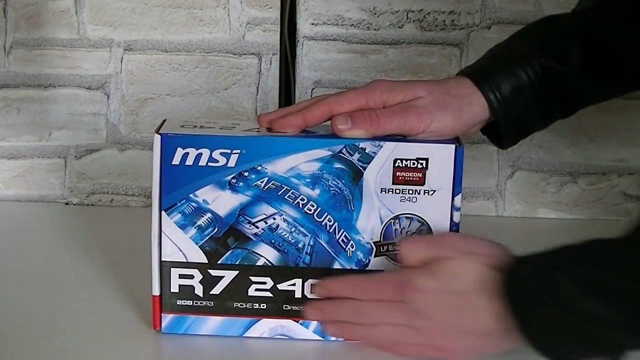 MSI Radeon R7 240 Review