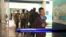 FUSINA dio inicio a operativos para la seguridad de los estudiantes