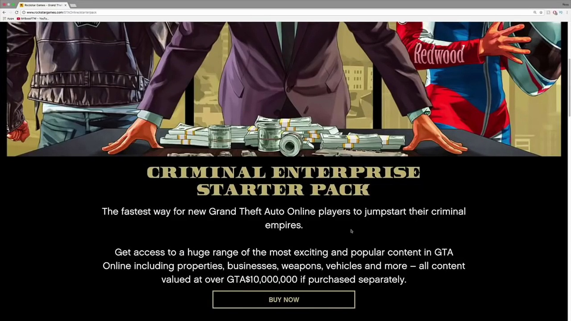 What Happens When You Buy The Criminal Enterprise Starter Pack But Already  Own All Of the Content?