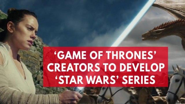 'Game Of Thrones' creators will write new 'Star Wars' film series