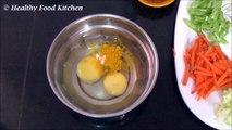 Egg Noodles Recipe-Egg Vegetable Noodles Recipe-Noodles Recipe By Healthy Food Kitchen