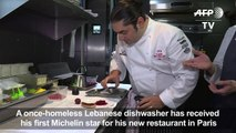 Homeless Lebanese dishwasher becomes Michelin-starred chef
