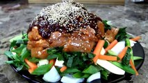 Chicken Recipe : Korean Spicy BBQ Chicken Recipe (Dak Galbi Recipe) : Korean Food : Asian at Home