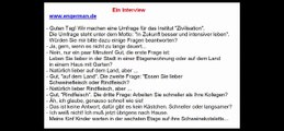 Deutsch lernen mit Dialogen   Learn German with Dialogues #4