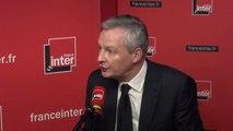 """Bruno Le Maire : """"Nous devons nous débarrasser de la dette, poison pour l'économie française"""""""