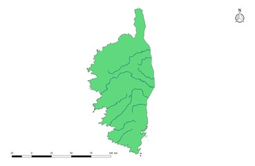 La France et ses régions la Corse