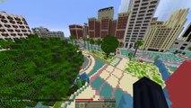 Los Santos in GTA 5 Recreated in Minecraft!