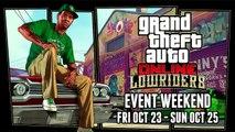 GTA 5 Online Exclusive Items, 25% Rebates & Double GTA$ + RP on Last Gen! (Lowrider Event Weekend)