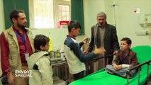 """""""Un éclat d'obus m'a touché à la tête"""" : au Yémen, les premières victimes de la guerre sont des enfants"""
