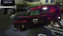 "GTA 5 Heists RARE CAR! Vapid ""Lost MC"" Slamvan Showcase! [GTA V Heist Update]"