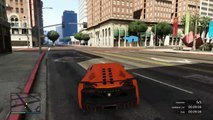 GTA 5 Fun Races - HUGE MAZE BANK WALL RIDE RAMP! [GTA V Online Funny Moments]