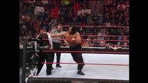 The Great Khali vs. Jeff Hardy: Raw, Sept. 10, 2007