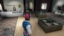 GTA 5 Online - FASHION FRIDAY! (Captain America, The Joker & Elvis) [GTA V Cool Outifts]