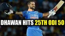 India vs South Africa 3rd ODI : Shikhar Dhawan slams 50 runs in 47 balls | Onendia News