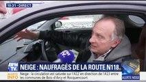 Neige : Yves Lecoq, naufragé de la route, témoigne sur BFM TV