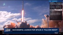 DAILY DOSE | Successful launch for Space-X  'Falcon heavy' |  Wednesday, February 7th 2018