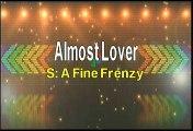 A Fine Frenzy Almost Lover Karaoke Version