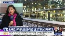 """Neige: """"Les 700 kilomètres de bouchons en Ile-de-France, ça ce n'était normal"""", déplore Hidalgo"""