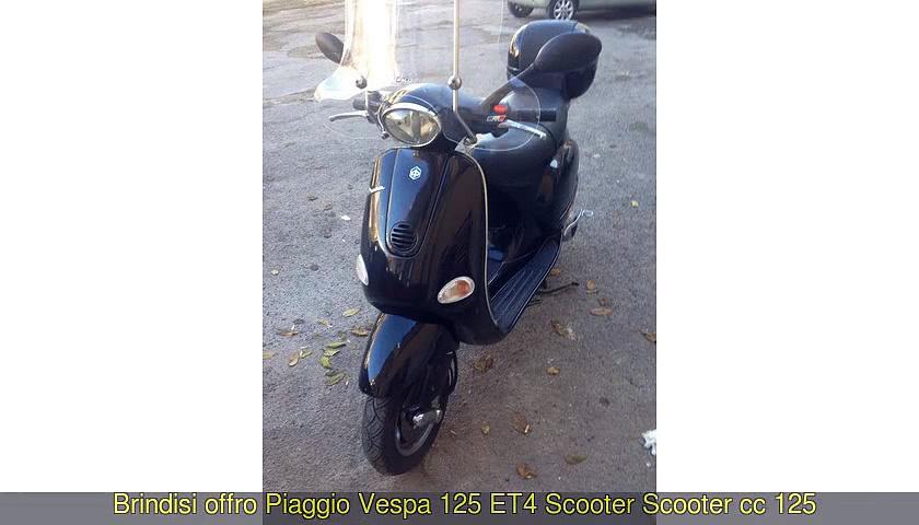 PIAGGIO Vespa 125 ET4 Scooter Scooter