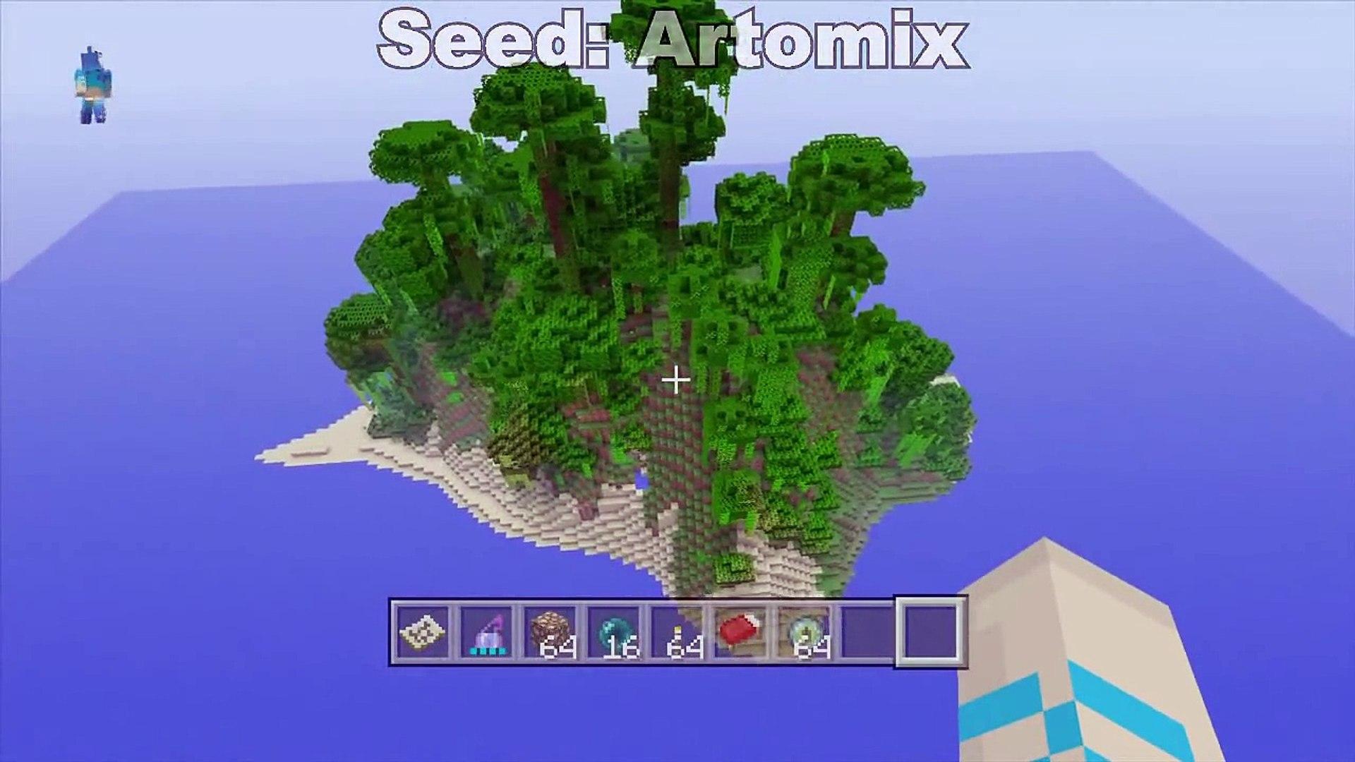 "Minecraft Xbox 9 - ""JUNGLE"" SURVIVAL ISLAND (Seed Spotlight #9"