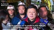 Séisme à Taiwan: les secours à la recherche de survivants