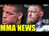 Conor Mcgregor Nate Diaz Rematch happening at UFC 201?Lawler vs Woodley at UFC 201,Chael on conor