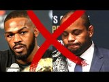 Jon Jones out of UFC 200,Jones vs DC Cancelled,Lesnar vs Hunt new Main Event at UFC 200
