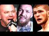 Dana White-Khabib vs Tony is off,Conor McGregor not in UFC's plans,Teases Khabib vs Aldo