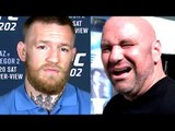 Dana white issues warning to Conor McGregor-He is in for an Epic Fall,Conor slams UFC,fox 23 results