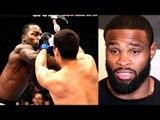 MMA Community reacts to Brutal KO in Lyoto Machida vs Derek Brunson,I'll break Tyron Woodley-Colby