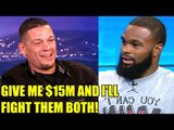 A MMA Legend is ready to make a comeback and fight Woodley & Nate for $15M,Chael on Conor McGregor