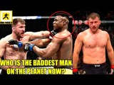 MMA Community Reacts to One Sided Beatdown Stipe Miocic vs Ngannou,Cormier,Volkan,UFC 220R,Octagon
