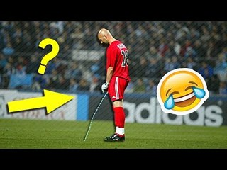 Football Player Pissing During Game ● Funny Football Moments