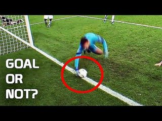 Top 10 Saves Decided by Goal Line Technology