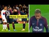 Teammate Fights Over Penalty • Neymar, Ronaldo, Cavani