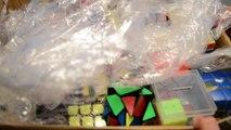 HUGE 300$ Rubiks Cubes Unboxing | 40 Cubes