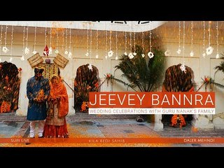 Jeevey Bannra   Wedding Celebrations with Guru Nanak's Family   Daler Mehndi   DRecords