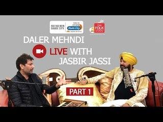 Daler Mehndi live with Jasbir Jassi | Part 1 | DM Folk Studio | Radio City