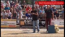 Moulins 2017, record des 1000 boules à 5 tireurs : Jimmy RAKOTOARINIAINA
