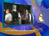 ACATAN HUELGA NACIONAL - AYACUCHO