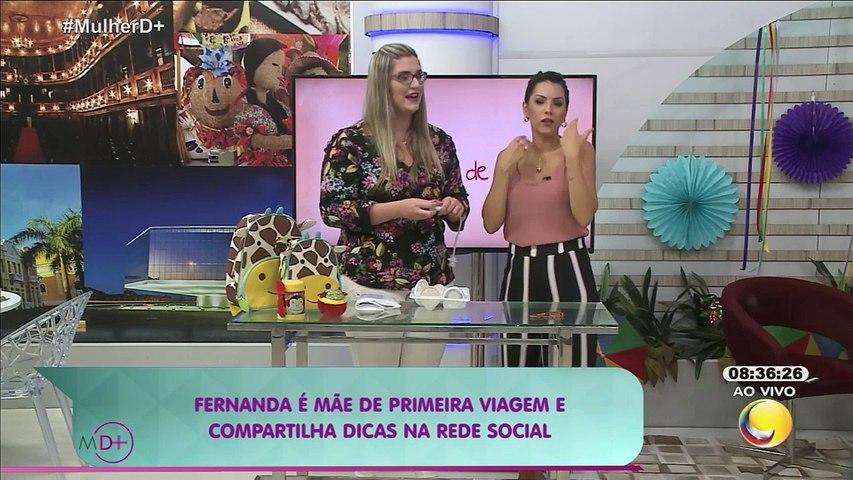 Mulher Demais - Coisas de mãe - Fernanda é mãe de primeira viagem e compartilha dicas na rede social