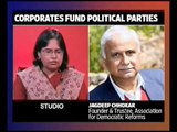 From the Newsroom: Corporate donations to political parties