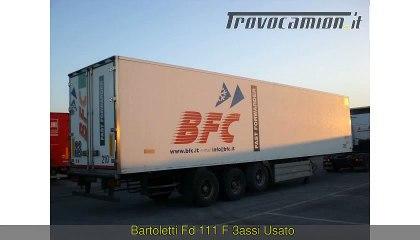 Bartoletti FD 111 F 3ASSI Usato