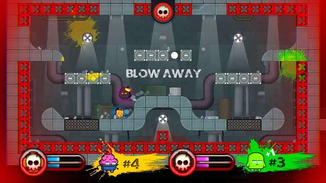 MOVE OR DIE! - STUPID TOWN! (Move or Die Funny Gameplay!)